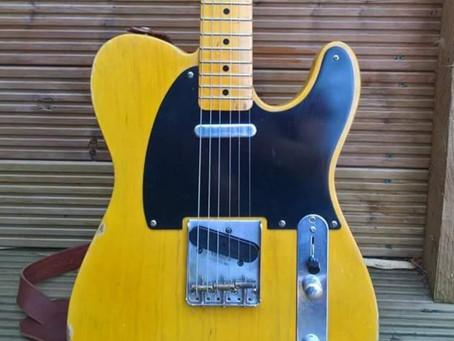 Custom Build 1952 Blackguard Relic Guitar