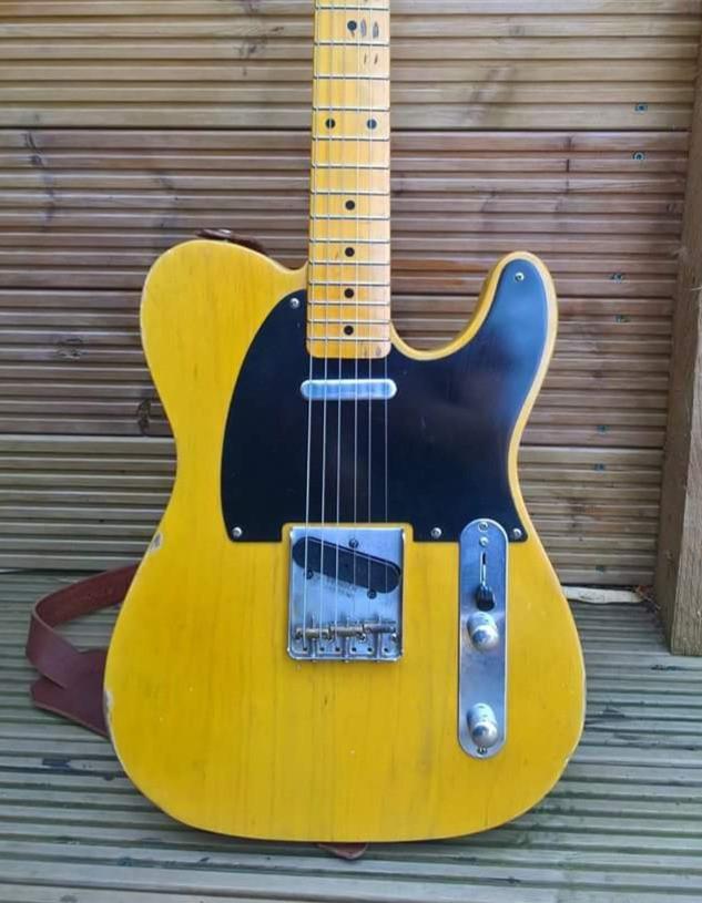 Relic Telecaster Tele Guitar Custom made uk