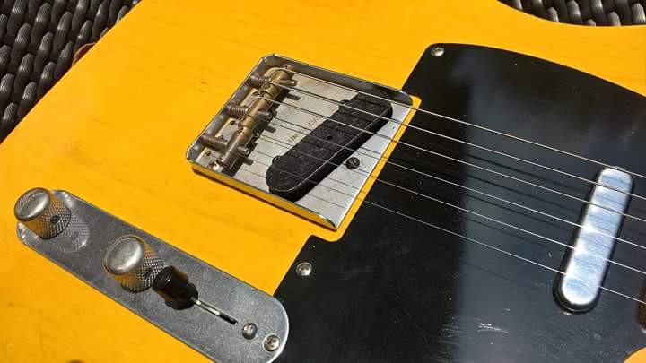 1952 Relic Telecaster replica guitar UK