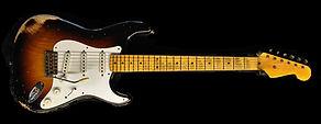 Stratocaster Strat Relic Guitar Sunburst