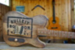 Whiskey Barrell Custom Guitar Tele Telecaster