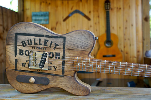 Whiskey Barrell Custom Guitar Tele Telecaster