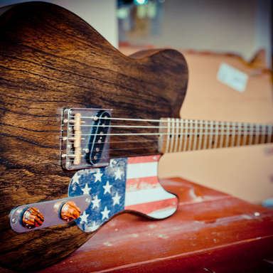 Barnwood Relic Custom Guitar