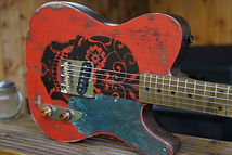 Day ofthe dead Telecaster Tele Guitar
