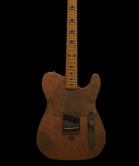 custom Telecaster Tele shipwreck copper
