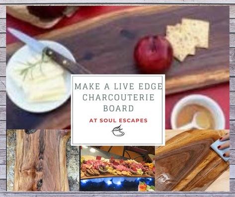 Live Edge Charcouterie Board