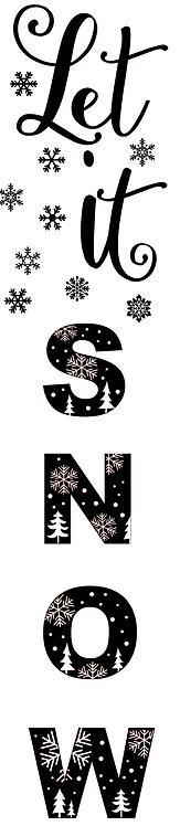 Let it Snow porchsitter
