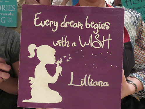 every dream begins with a wish