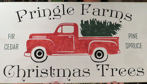 Pringle Farms - old truck