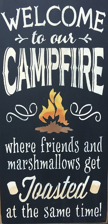 welcome to campfire - toasted