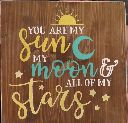 you are my sun moon stars