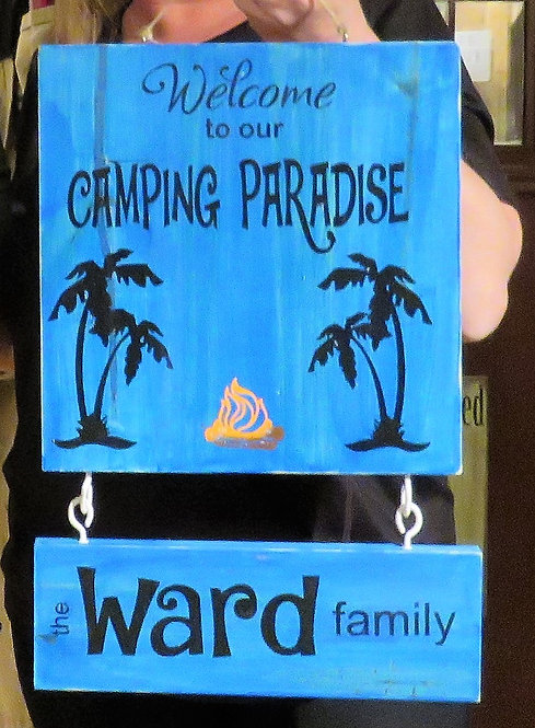 welcome to our camping paradise