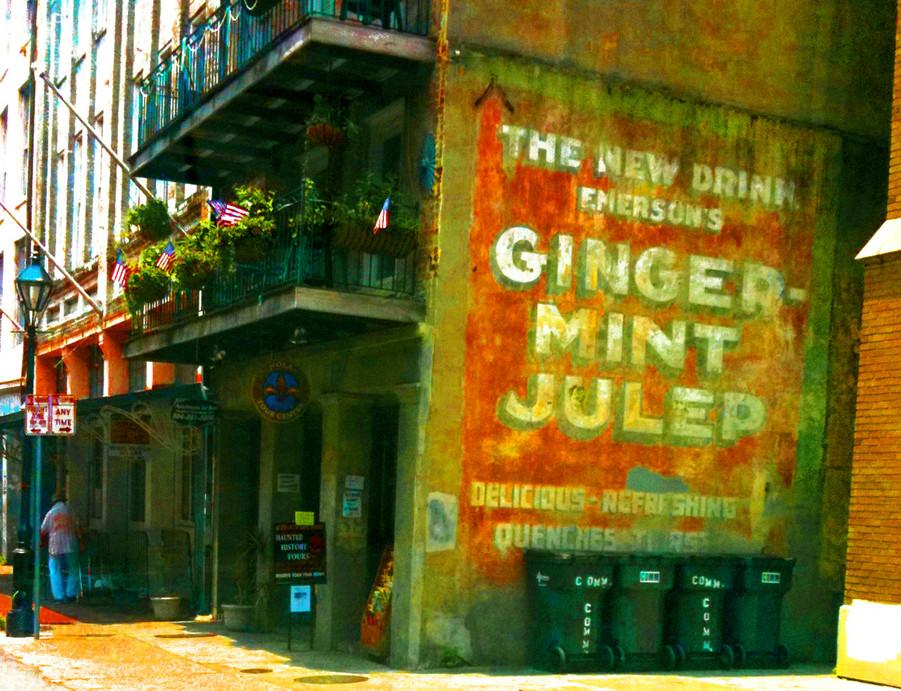 GINGER MINT. PHOTO BY XANADU XERO