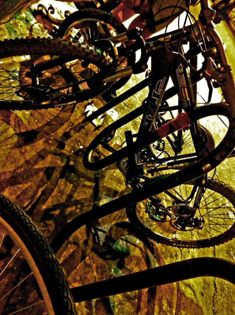 OUTSIDE THE SAINT 2. Photo by Xanadu Xero