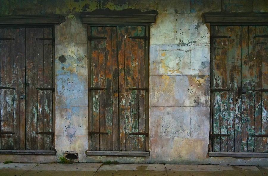 NOLA DOORS. PHOTO BY XANADU XERO