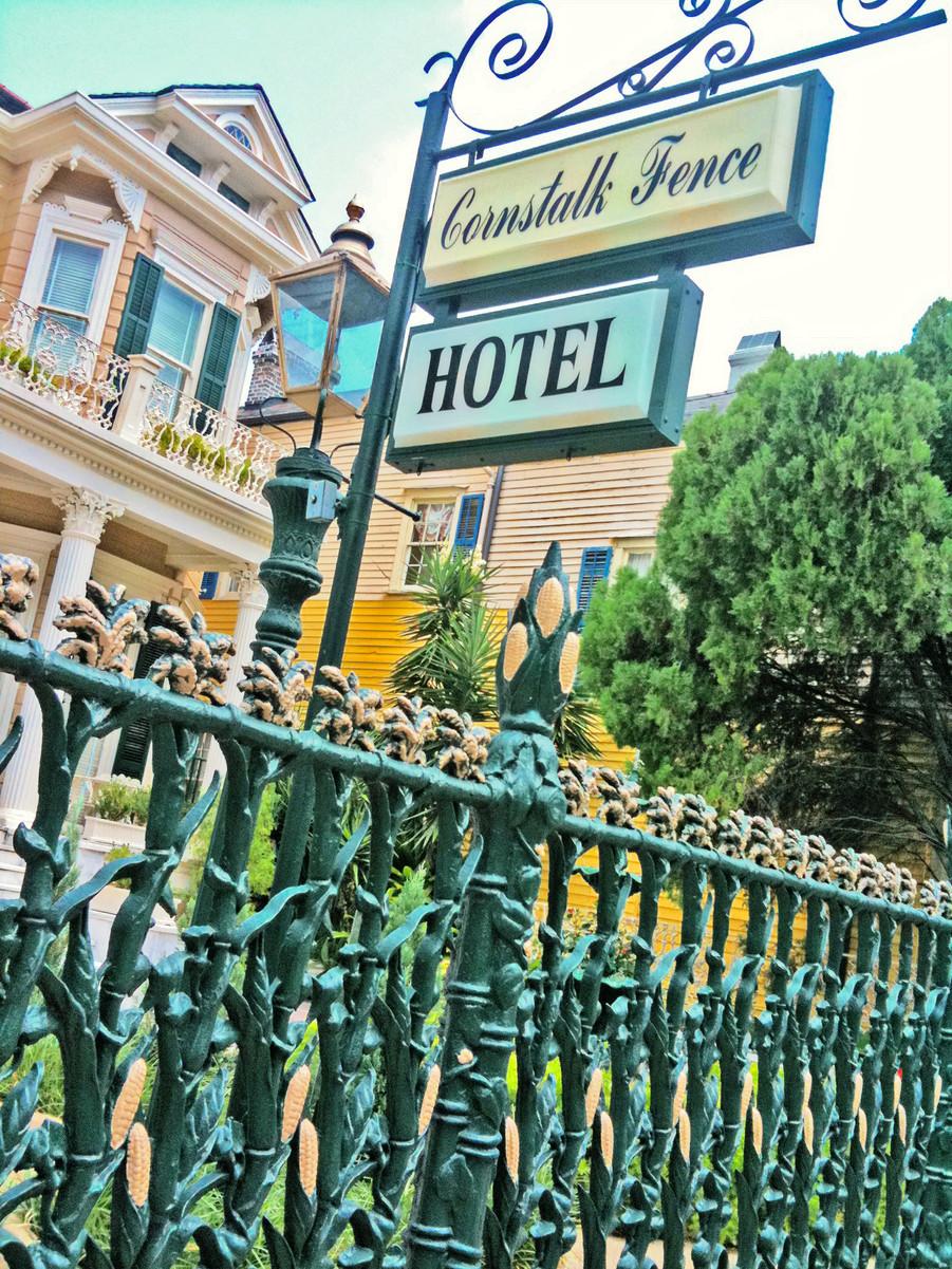 CORNSTALK FENCE HOTEL. Photo by Xanadu Xero