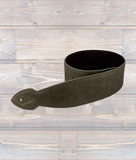 Leathergraft 2.5″ Softy Leather Guitar Strap XL – Brown