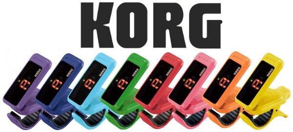 KORG Pitchclip Colour