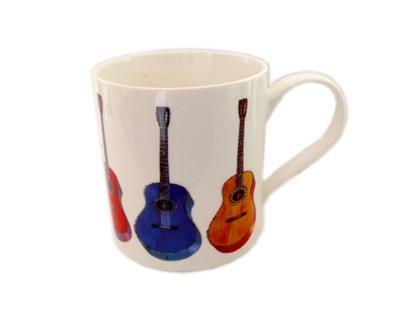 Fine China Mug - Acoustic Guitar