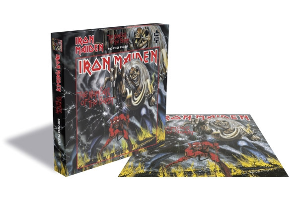 Iron Maiden The Number Of The Beast 500 Pc Jigsaw