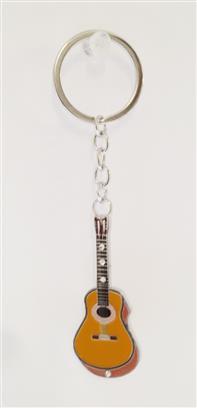 Little Snoring Keyring: Guitar