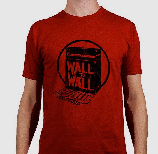 Wall To Wall Music T-Shirt