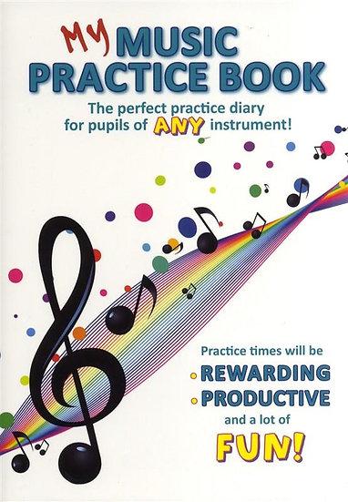 My Music Practice Book