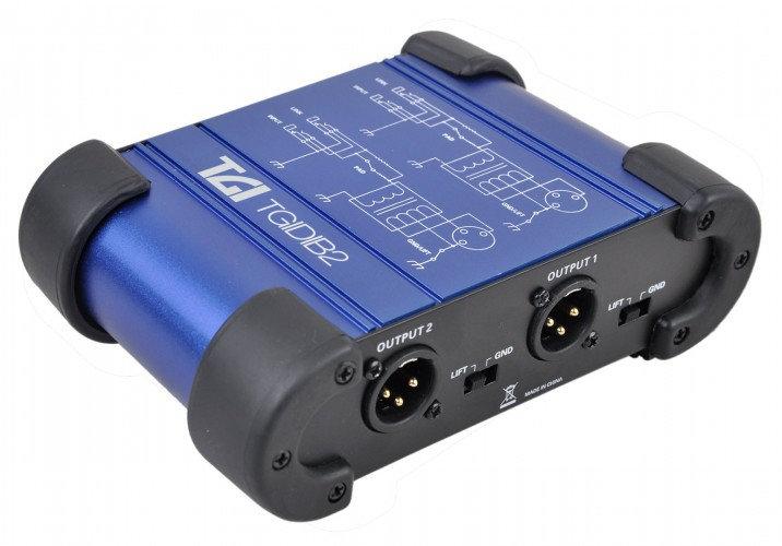 TGI Dual Channel Passive DI Box