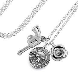 Guns N Roses Charm Necklace