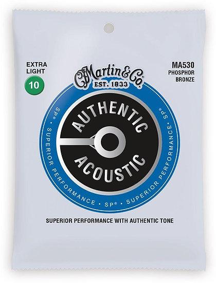 Martin Authentic Acoustic Phosphor Bronze - Extra Light 10's
