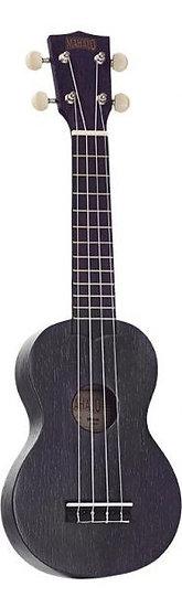 Mahalo Kahiko+ black soprano ukulele