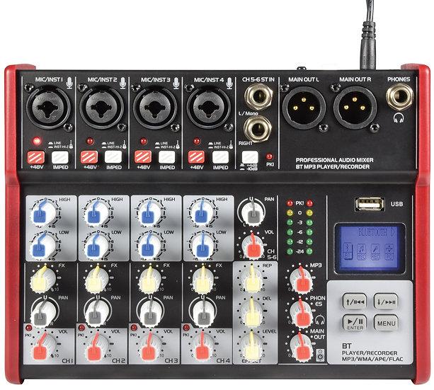 Citronic CSM-6 Compact Mixing Console