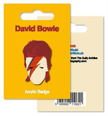 My World: Acrylic Badge - Bowie