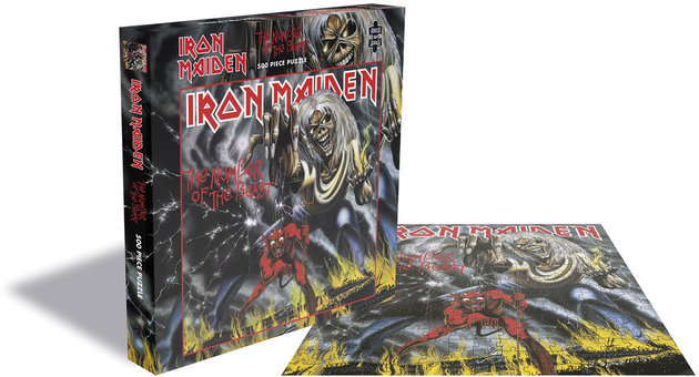 Iron Maiden The Number of the Beast 500 Piece Jigsaw