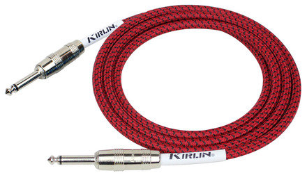 Kirlin Fabric Instrument Lead - Straight to Straight - 20ft