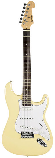 CAL63 Electric Guitar Vintage White