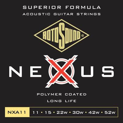 Rotosound Nexus Coated Acoustic Strings - 11's
