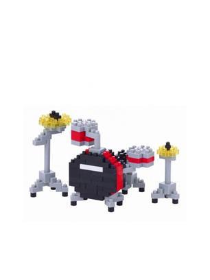 Nanoblock Drum Set Red Toy Gift
