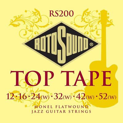 Rotosound Top Tape Flatwounds (12's)