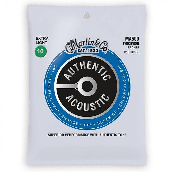 Martin Authentic Acoustic Phosphor Bronze 12-String 10's