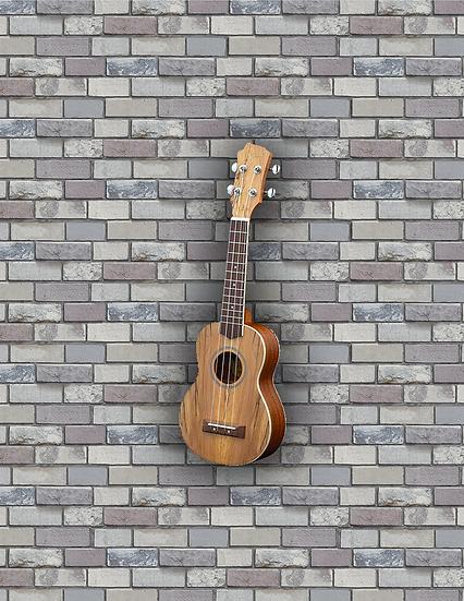 Adam Black Exotic Wood Series Soprano Ukulele - Spalted Maple