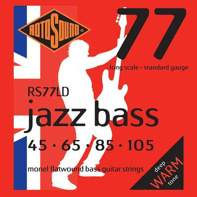 Rotosound Jazz Flatwound 45's