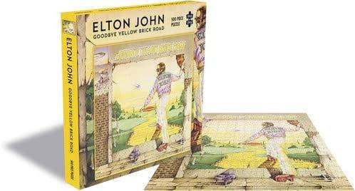 Elton John Goodbye Yellow Brick Road 500 Piece Jigsaw