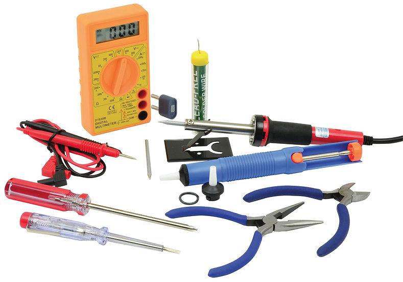 Mercury Electronic Tool Set -12pcs