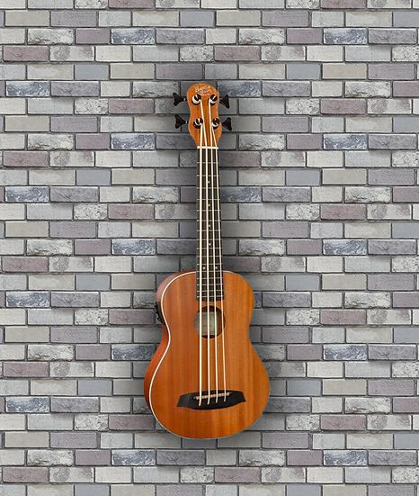 Barnes & Mullins Ukulele Bass - Mahogany