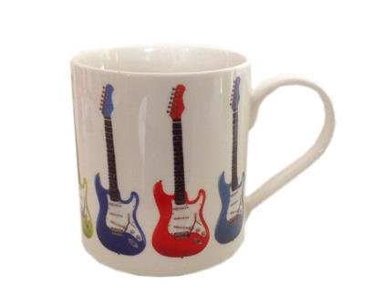 Fine China Mug - Electric Guitar