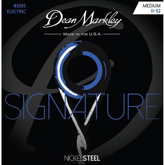 DEAN MARKLEY MEDIUM 11-52 NICKELSTEEL ELECTRIC SIGNATURE SERIES STRING SET