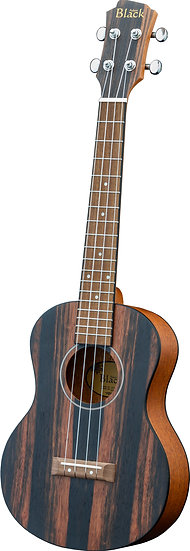 Adam Black Exotic Wood Series Tenor Ukulele - Striped Ebony
