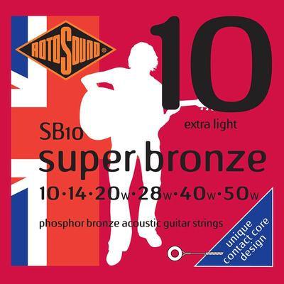 Rotosound Super Bronze 10's