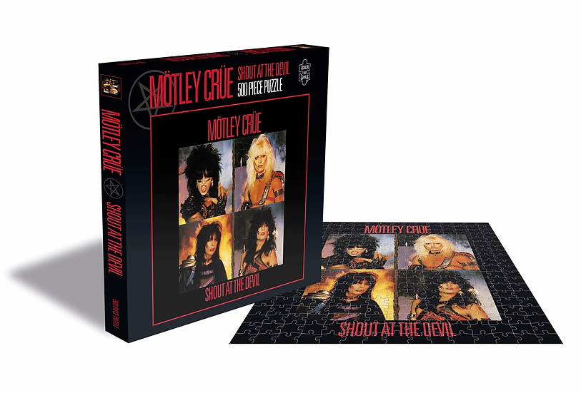 Motley Crue Shout at the Devil 500 Piece Jigsaw